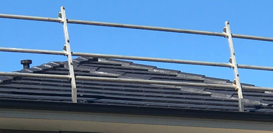Safety Rails Scaffolds Melbourne Roofcare And Gutters